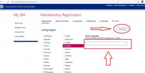 عضویت در اتحادیه وکلای بین الملل